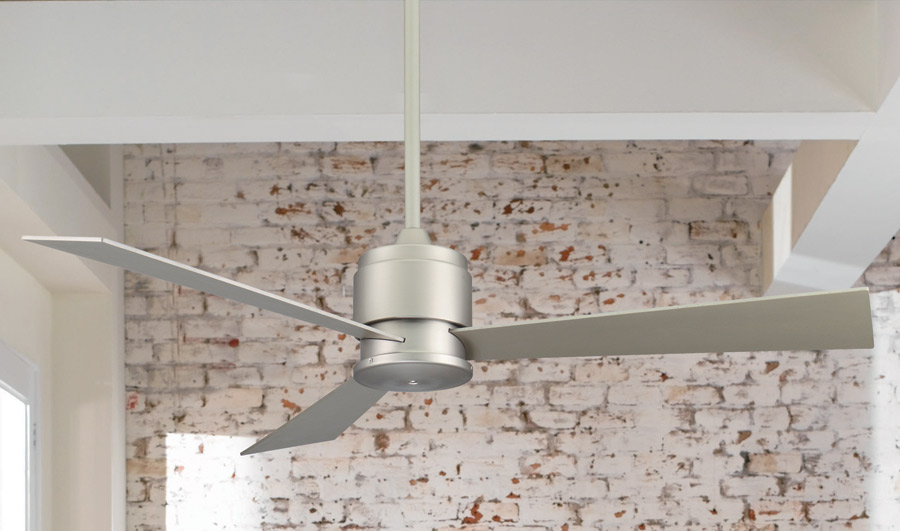 Zonix ceiling fan satin nickel satin modern digs furniture zonix ceiling fan detail aloadofball Choice Image