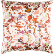 Ruby Floral Pillow