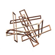 Tangled Rectangles Sculpture