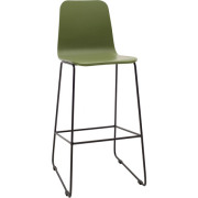 Agnes High Back Barstool
