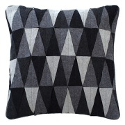 Triangle Mix Wool Pillow