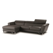 Simon Leather Sectional