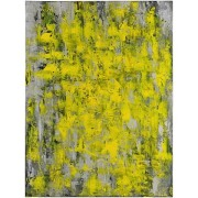 Brilliant Yellow Abstract