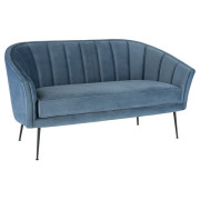 Aria Velour Sofa
