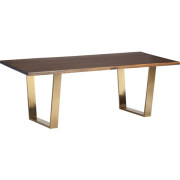 Versailles Gold Dining Table
