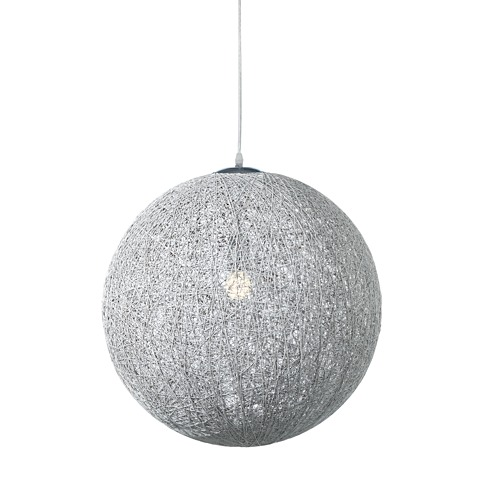 "String Pendant Lamp 20"" diameter 