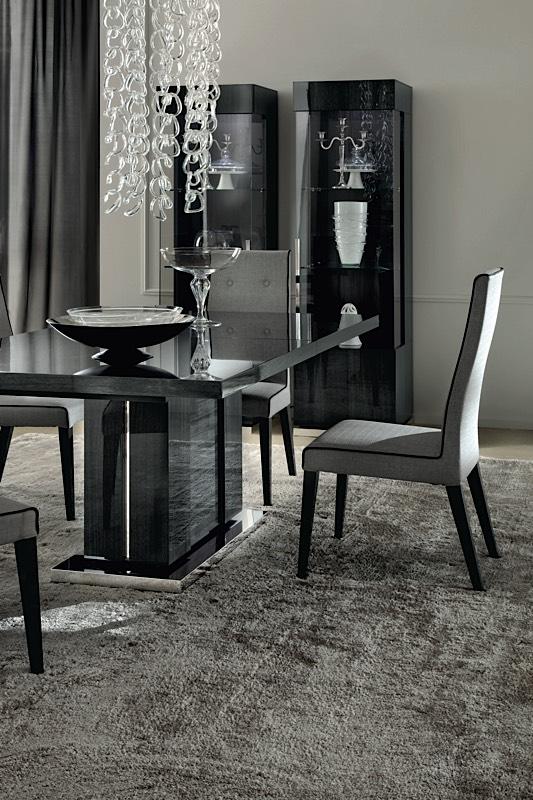 Positano Gray Oak Italian Dining Table Modern Digs