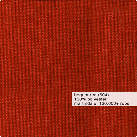Fabric Swatch Begum Red