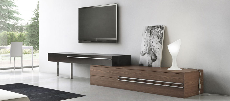 Superbe Massive Entertainment Centers Are No Longer The Norm. Instead, Weu0027re Seeing  A Huge Influx Of Unique, Low Profile Television Stands That Are Designed To  ...