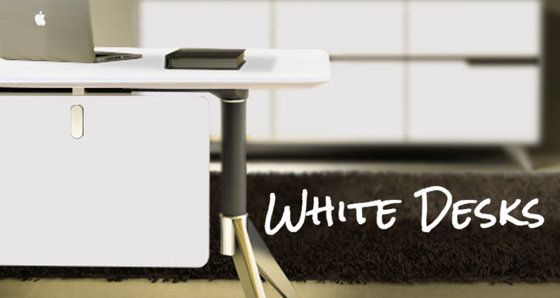 Truth Be Told Several Of Our Most Popular Desks Are White Because We Focus On Modern Furniture Always Assumed That Sold They Re