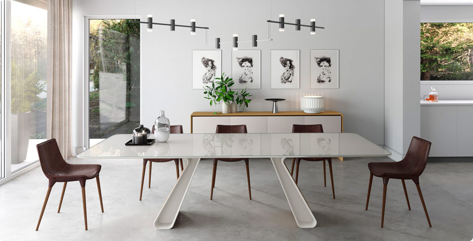 Modern Dining Room Furniture Sets for Your Home : modern dining tables sets - pezcame.com