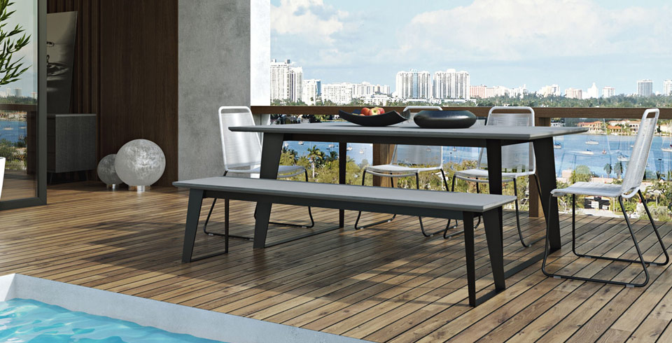 Affordable Modern Patio Furniture Outdoor Contemporary Furniture