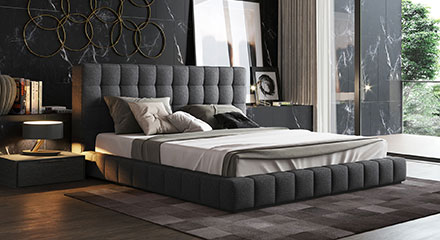 Modern Contemporary Bedroom Furniture Suite