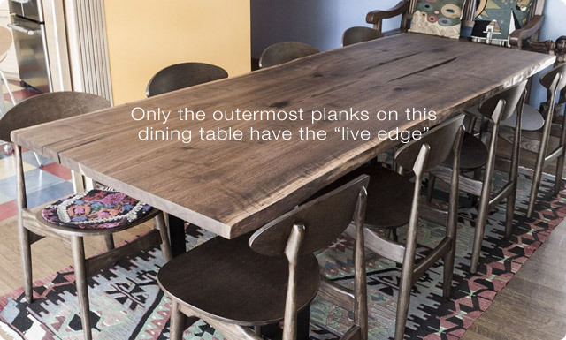 Generally You Can Find A Joined Live Edge Dining Table Starting Around 2 500 Up To 6 000