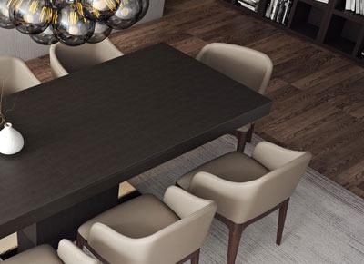Astor Dining Table Modern Walnut Dining Table