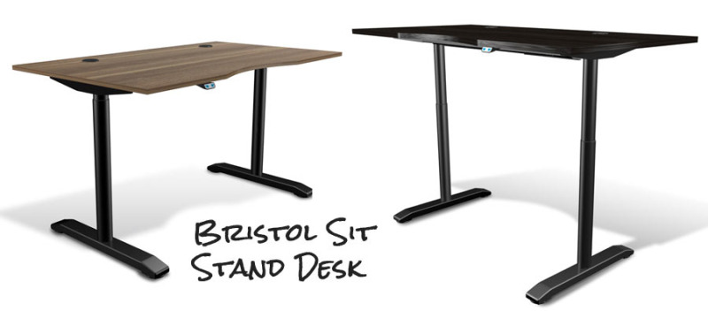 Bristol Adheres To Its Danish Roots Providing Clean Lines Classic Materials And Just What You Need From Your Office Desk