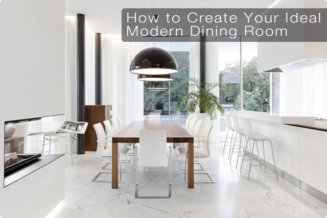 Modern Dining Room Design Tips Modern Digs